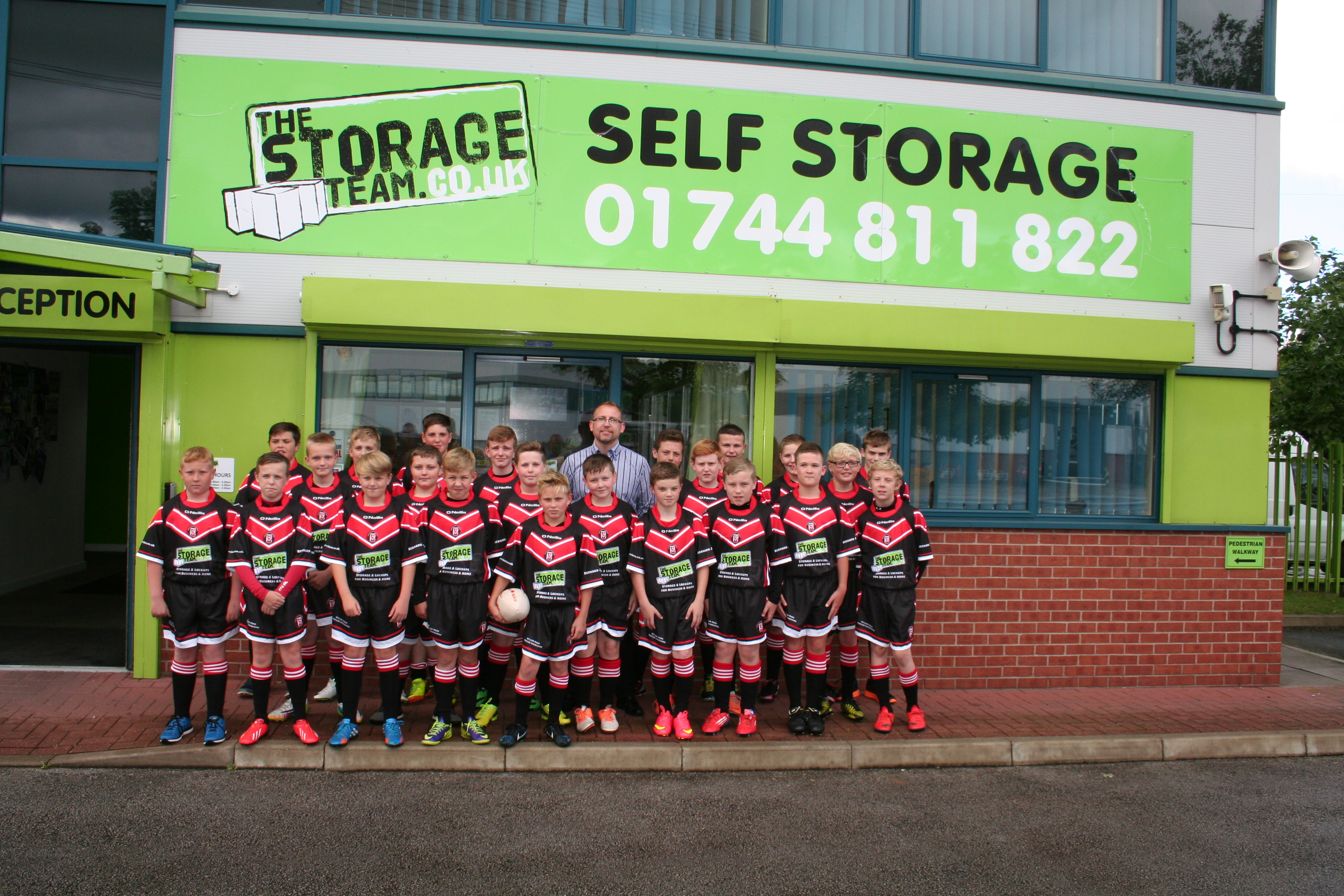 Rugby, St Helens, The Storage Team