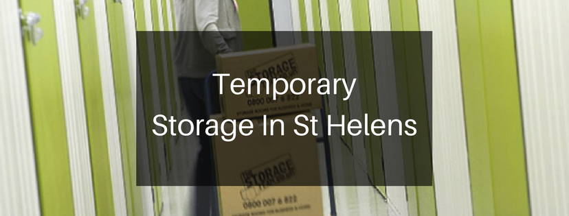 temporary storage units st helens